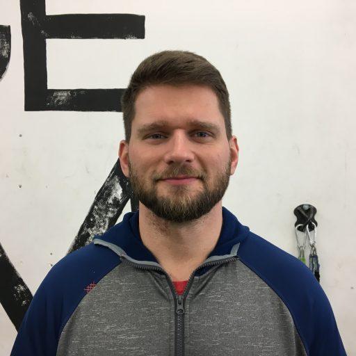 Coach Adam at The Garage Gym