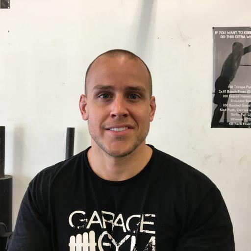 Coach Kieran at The Garage Gym