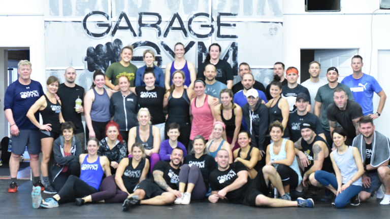 The Garage Gym-Group-Picture in Amherstburg Ontario